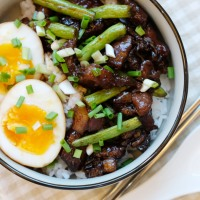糖心蛋與台式滷肉飯 Soft Boiled Egg & Taiwanese Pork Stew Rice