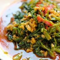 馬來風光。香辣參巴蕹菜 Sambal Kangkung