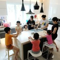 親子教室。與孩子們一起捏捏樂